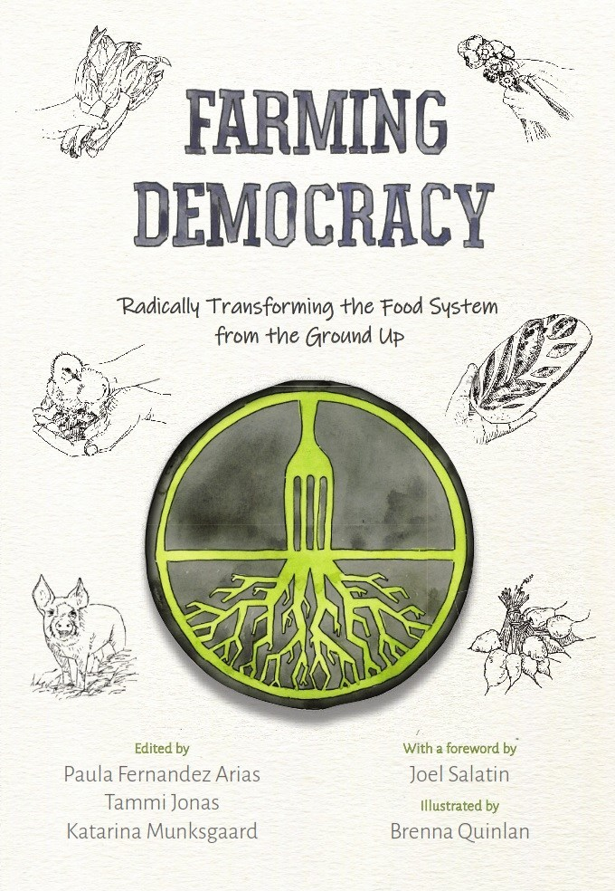 Cover of 'Farming Democracy' by AFSA.
