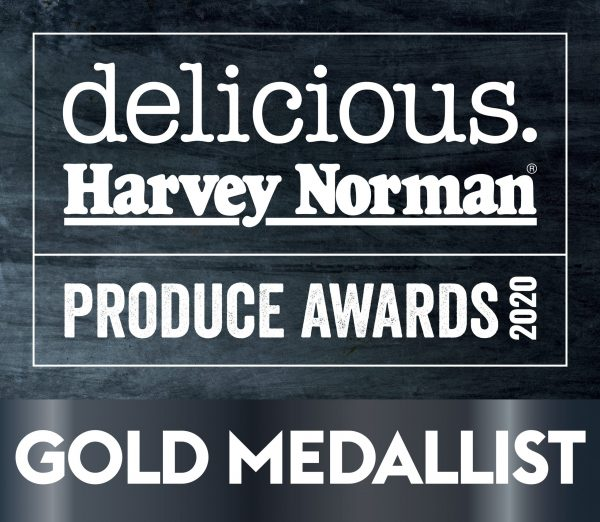 Delicious Produce Awards Gold Medal